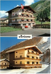 Arizona Haus Sommer und Winter